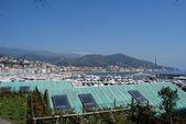 The sea of Liguria, Italy varazze — Stock Photo
