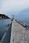 Villas Nice, Cote d'Azur, France — Stock Photo