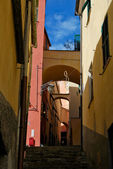 Medieval Italian Village, Cervo, Liguria, Italy — Stock Photo