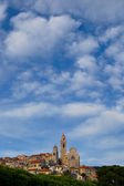 Medieval Italian Village, Cervo, Liguria, Italy — Stock Photo