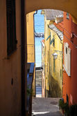 Medieval italian village Cervo, Liguria, Italy — Stock Photo