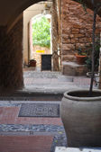 Medieval italian village Cervo, Liguria, Italy — Stock Photo