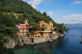 On the way to Portofino, Liguria, Italy — Photo