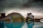 City of Sciences in Valencia, Spain — Stockfoto