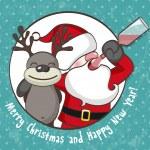 ������, ������: Drunk Santa Claus