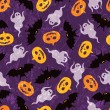 Halloween seamless pattern — Stock Vector #13526240