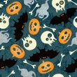 Royalty-Free Stock Vector Image: Halloween seamless pattern