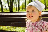 Cute baby girl portrait — Stock Photo