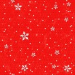 Seamless background with snowflakes. — Stock Vector