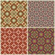 Traditional seamless pattern — Stock Vector