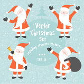 Vector Christmas set — Vettoriale Stock