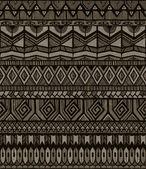 Vector tribal pattern — Stock Vector