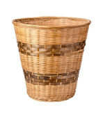 Wastebasket Isolated with clipping path — Stock Photo