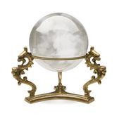 Crystal Ball isolated — Stock Photo