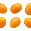 Stock Photo: Kumquats isolated
