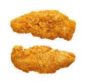 Chicken Fingers isolated on white — Stock Photo