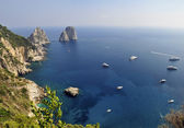 Faraglioni Rocks, Capri — Stock Photo