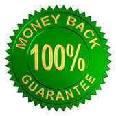 Money Back Guarantee — Stock Photo