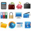 Business and Finance Icons - Stock Vector