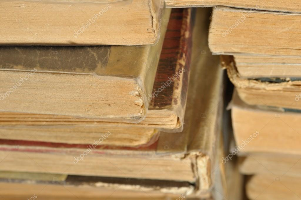 Vintage background with old books. — Stock Photo #13591883