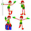 Happy playing elves — Stock Photo #13757454