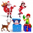 Illustration of santa claus — Stock Photo #35111937