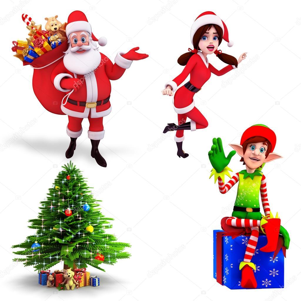 Santa and elve boob pic adult scene