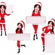 Illustration of christmas characters — Stock Photo #35228455