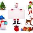 Illustration of christmas characters — Stock Photo #35230827