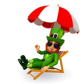 Leprechaun for patricks day — Stock Photo