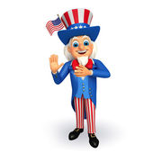 Uncle sam — Stockfoto