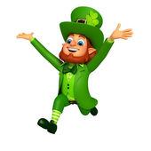Happy Leprechaun for patricks day — Stock Photo