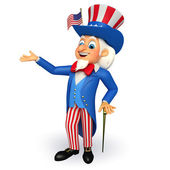Uncle sam — Stock Photo
