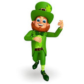 Happy Leprechaun for patricks day — 图库照片