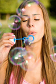 Bubble freedom. — Stock Photo