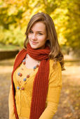 Colorful fall fashion. — Stock Photo