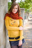 Colorful harmony for autumn fasion. — Stock Photo