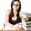 Beautiful young student. — Stock Photo