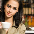 Join me for a coffee. — Stock Photo