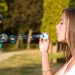 My free bubbles. — Stock Photo #14062506