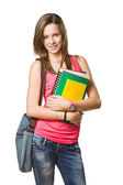 Cheerful young student. — Stock Photo