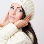 Young woman winter fashion — Stock Photo