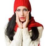 Winter fashion beauty. — Stock Photo #18007601