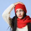 Colorful winter fashion. — Stock Photo #18007643