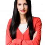 Gorgeosu young business woman. — Stock Photo
