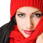 Colorful winter fashion. — Stock Photo #18007829