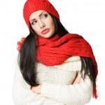 Colorful winter fashion. — Stock Photo #18007865