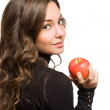Fit apple beauty. — Stock Photo #19037853