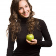 Fit apple beauty. — Stock Photo #19037867