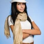 Elegant young woman shopper. — Stock Photo #19038045